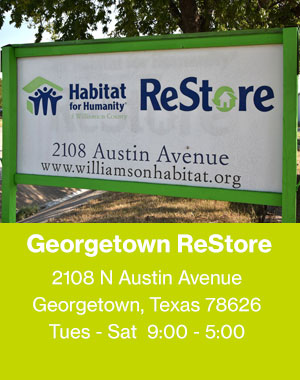 Habitat ReStore | Georgetown and Round Rock | Home