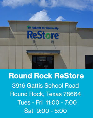 Habitat ReStore | Georgetown and Round Rock | Home Improvement Store